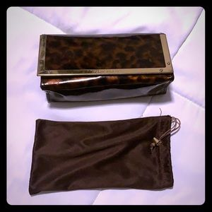 Tory Burch sunglasses case and bag. Good condition